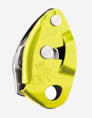 petzl belay image yellow