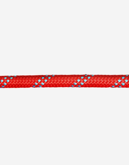 Marlow Dynamic Climbing Rope in Red with Blue Fleck